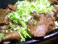 牛タン塩焼き(ネギ盛り)