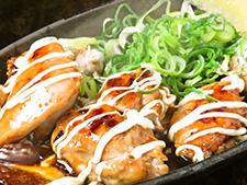 チキンの照り焼きマヨネーズ焼き