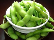 こぼれ枝豆